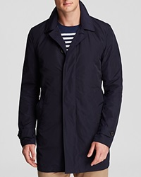 The Men's Store At Bloomingdale's Single Breasted Trench Bloomingdale's Exclusive Navy