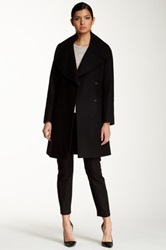 Tahari Haifa Oversized Collar Wool Blend Coat