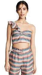 6 Shore Road Stripe Top Multi Stripe