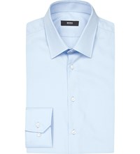 Hugo Boss Slim Fit Cotton Shirt Light Pastel Blue