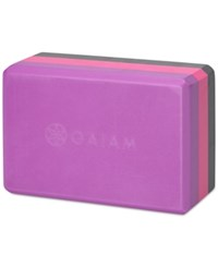 Gaiam Tri Color Block