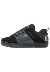 Dvs Shoe Company Comanche Skater Shoes Black Grey