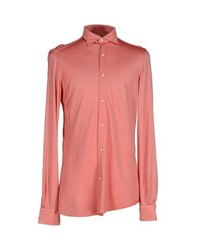 Boglioli Shirts Shirts Men Red