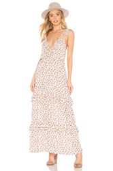 Blue Life Valerie Maxi Dress Cream