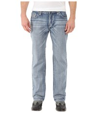 Rock And Roll Cowboy Pistol Straight Leg In Light Wash M1p7430 Light Wash Men's Jeans Blue