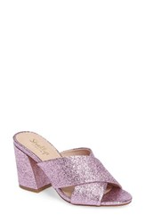 Shellys Women's London 'Dani' Sandal Pink Sparkle