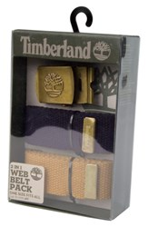 Timberland Men's Two Strap Web Belt Navy