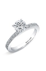 Bony Levy Women's Channel Set Diamond Engagement Ring Setting Nordstrom Exclusive