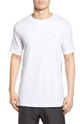 Zanerobe Men's Flintlock Mesh Side T Shirt Optic White