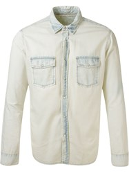 Osklen Denim Shirt White
