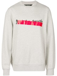 Zadig And Voltaire Art Is Truth Sweatshirt Grey