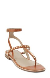 G.H. Bass Women's And Co. Michelle Sandal Cognac Leather