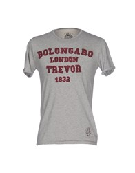 Bolongaro Trevor T Shirts Grey