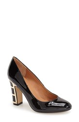 Women's Nina Originals 'Dashing' Round Toe Pump Black Patent