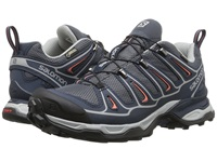 Salomon X Ultra 2 Gtx Grey Denim Deep Blue Melon Bloom Women's Shoes Gray