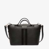 Bally Women's Bovine Leather Bowling Bag In Black