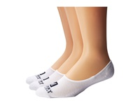 Sperry Solid Half Cushion Canoe White Men's No Show Socks Shoes