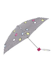 Lulu Guinness Spot On Stripe Tiny Umbrella Multi Coloured Multi Coloured