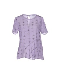 Max And Co. Shirts Blouses Women Lilac