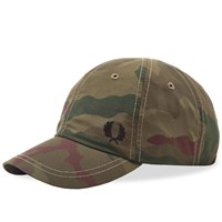 Fred Perry X Arktis Camo Cap Green