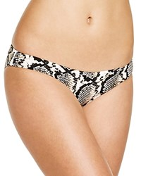 Vitamin A Paloma Snakeskin Print Bikini Bottom Mile High