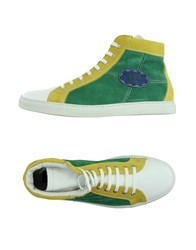 Gianfranco Lattanzi Footwear High Tops And Trainers Men Green