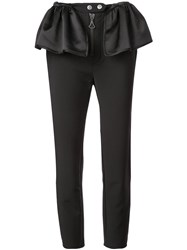 Ellery Flared Patches Trousers Black