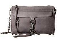 Rebecca Minkoff Mini Mac New Grey Cross Body Handbags Gray
