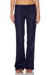Level 99 Alana Lounge Pant Navy
