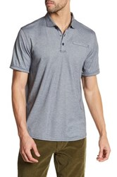 Victorinox Short Sleeve Tailored Fit Polo Blue