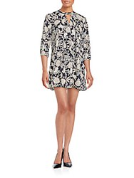 Collective Concepts Floral Printed Shift Dress Multi
