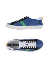 D.A.T.E. Footwear Low Tops And Trainers Men Blue
