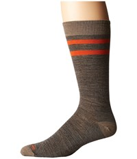 Smartwool Erving Crew Taupe Heather Men's Crew Cut Socks Shoes