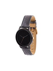 Forty Five Ten X Fossil Black Dial Watch Grey