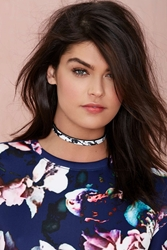 Nasty Gal I Still Love You Nyc Marble Collar Necklace