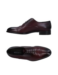 Fratelli Rossetti Lace Up Shoes Maroon
