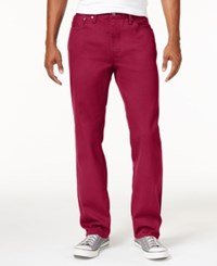 Levi's 541 Athletic Fit Rigid Twill Pants Scooter Red Rigid