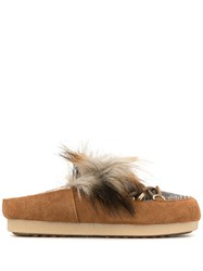Moon Boot Fur Loafer Mules 60