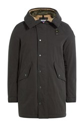 Blauer Jacket With Hood Black