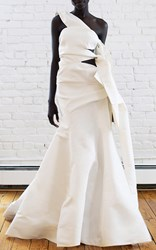 Rosie Assoulin Bandeau Gown White