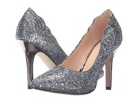 Paradox London Pink Alexis Pewter Glitter Sequins Women's Shoes Purple