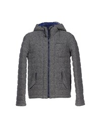 Officina 36 Coats And Jackets Jackets Men Dark Blue