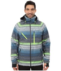 Obermeyer Hunter Jacket Jail Break Stripe Men's Coat Multi