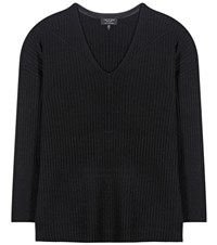 Rag And Bone Phyllis Cashmere Sweater Black