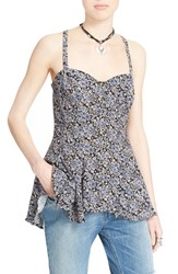 Women's Free People 'Jenna's' Bustier Babydoll Tank Night Combo
