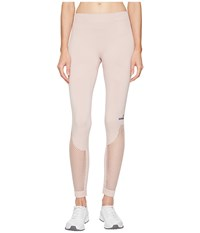Adidas By Stella Mccartney The Seamless Mesh Tights Bp6836 New Rose Women's Workout Multi