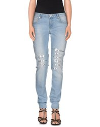 Blugirl Folies Denim Denim Trousers Women