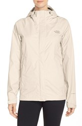 The North Face Women's 'Venture' Waterproof Jacket Vintage White