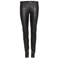Emilio Pucci Leather Leggings Nero