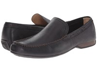 Frye Lewis Venetian Black Oiled Vintage Men's Slip On Shoes